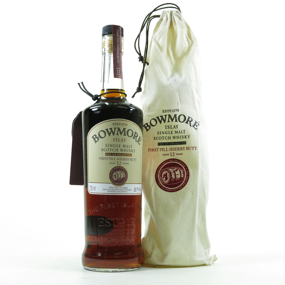 Bowmore 12 Year Old Feis Ile 2015 - Hand Filled First Fill Sherry Butt