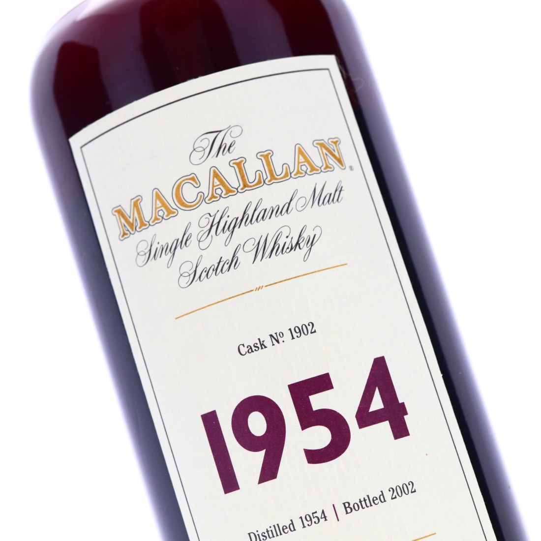 Macallan 1954 Fine and Rare 47 Year Old #1902