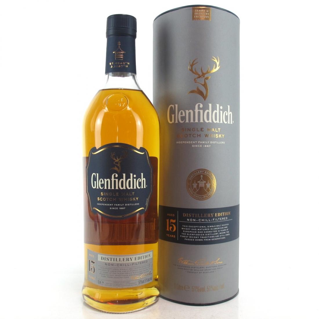 Glenfiddich 15 Year Old Distillery Edition 1 Litre