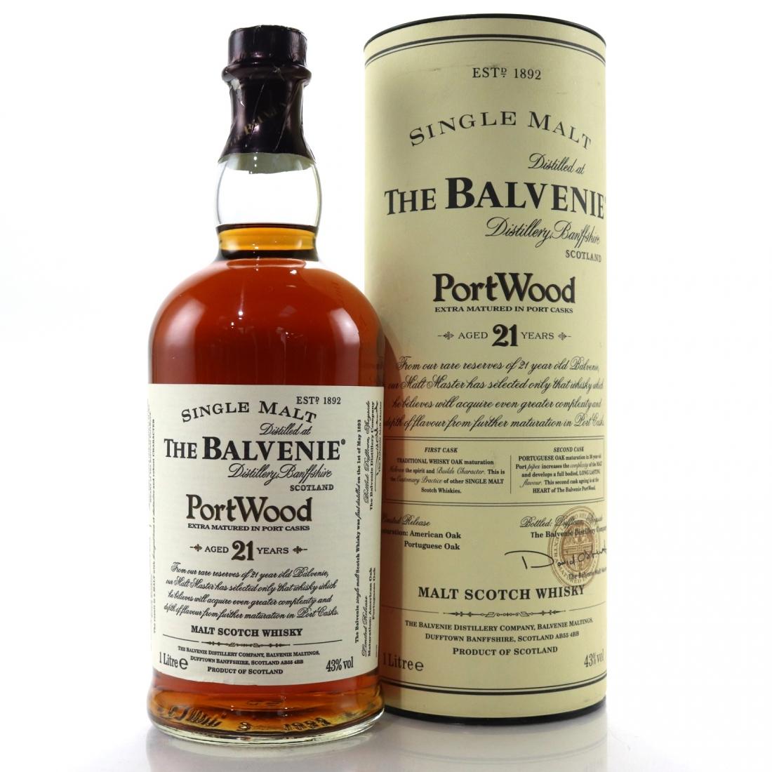 Balvenie 21 Year Old Port Wood 1 Litre 1997