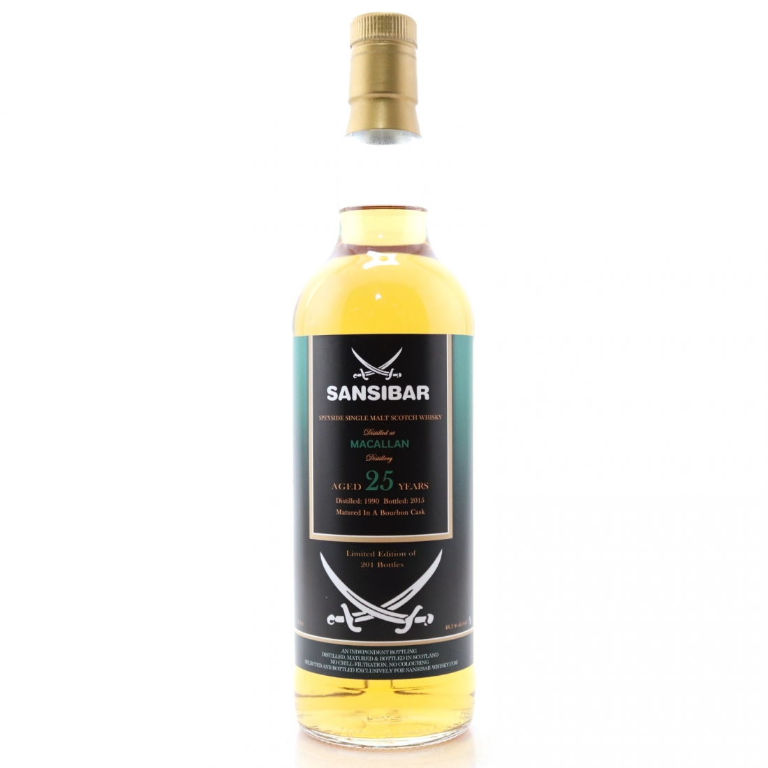 Macallan 1989 Sansibar 25 Year Old / Spirits Shop' Selection