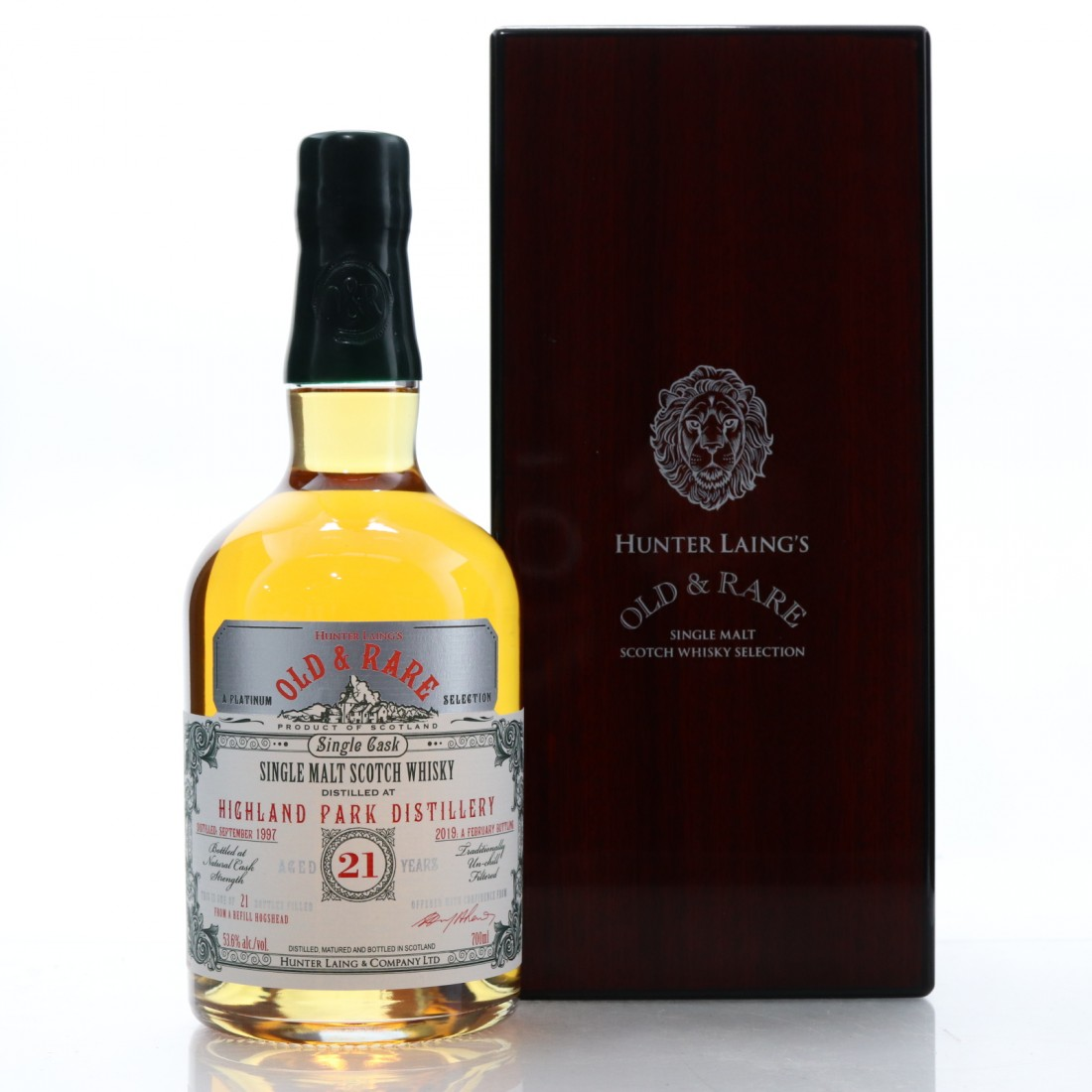 Highland Park 1997 Hunter Laing 21 Year Old / Old and Rare