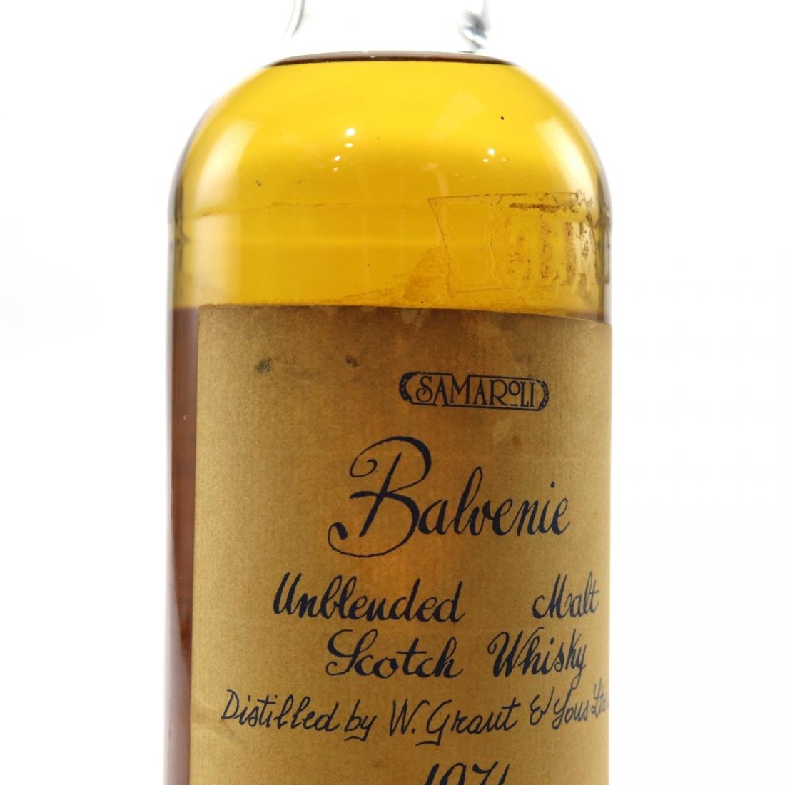 Balvenie 1974 Samaroli / Handwritten Labels