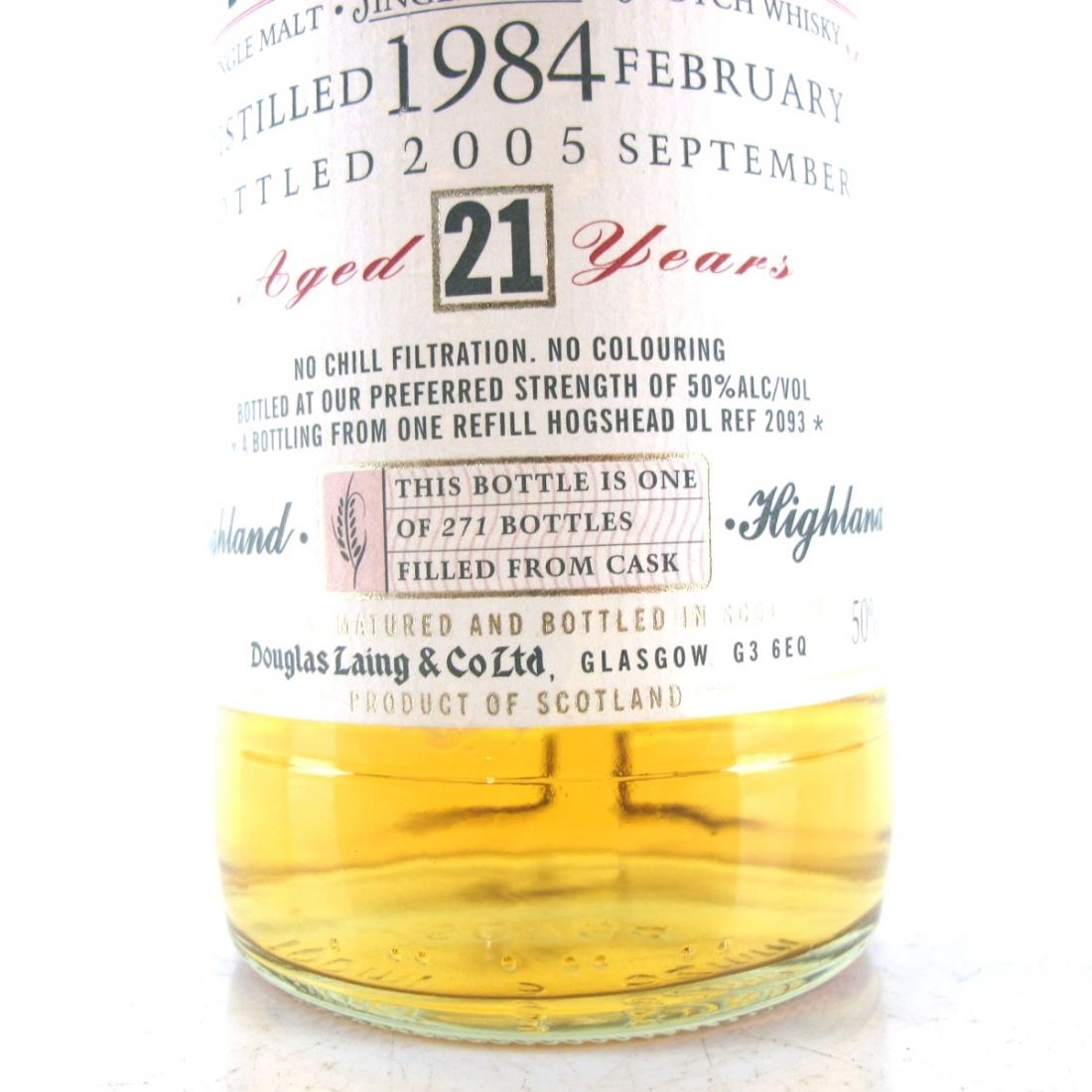 Blair Athol 1984 Douglas Laing 21 Year Old