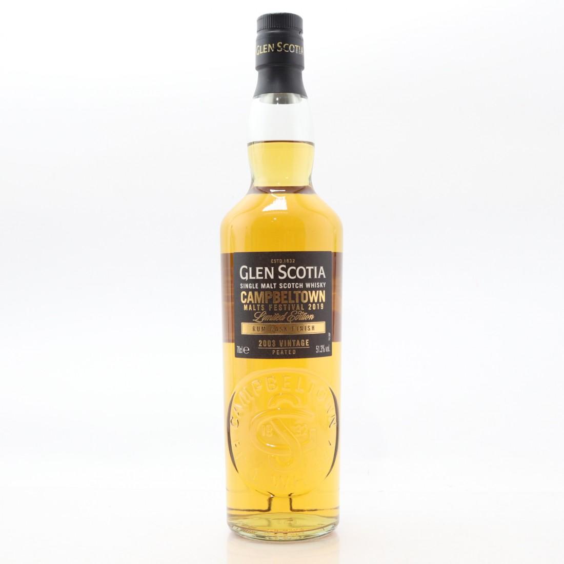 Glen Scotia 2003 Rum Cask Finish / Campbeltown Festival 2019