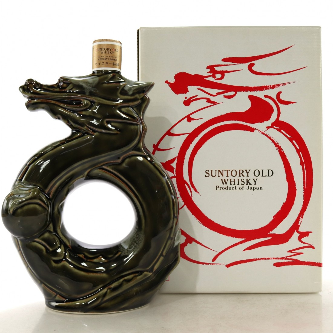 Suntory Old Whisky Decanter / Year of the Dragon