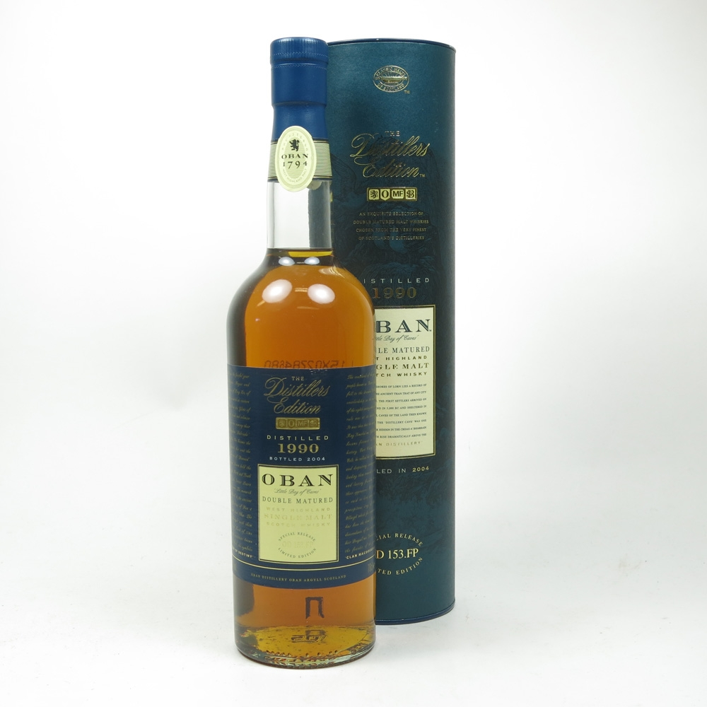 Oban 1990 Distillers Edition 2004 Front
