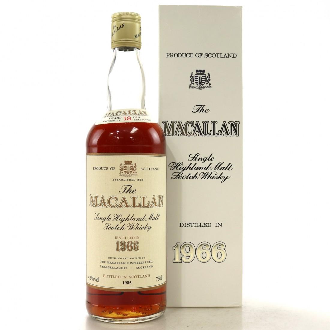 Macallan 1966 18 Year Old