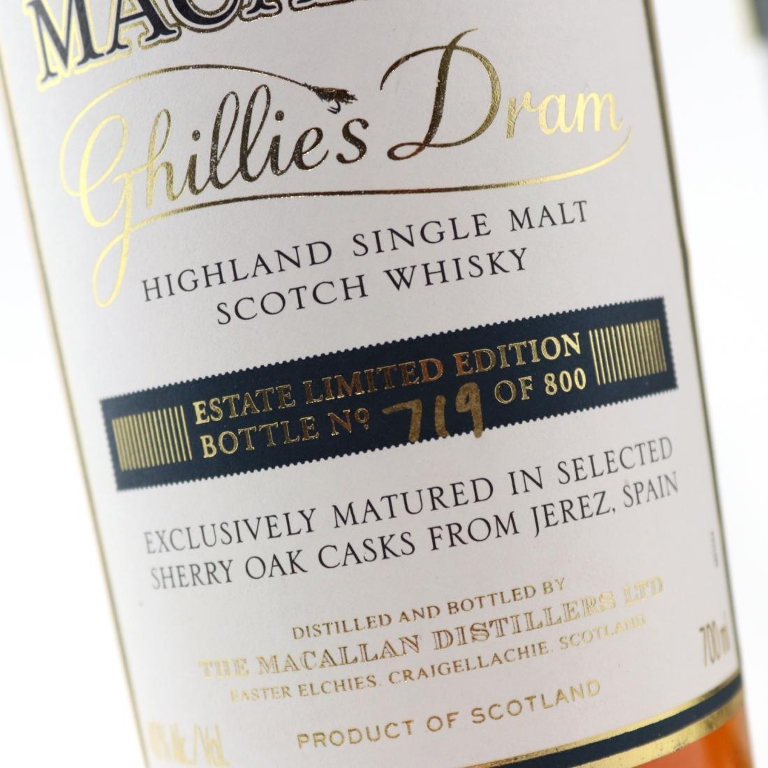 Macallan 12 Year Old Ghillie's Dram