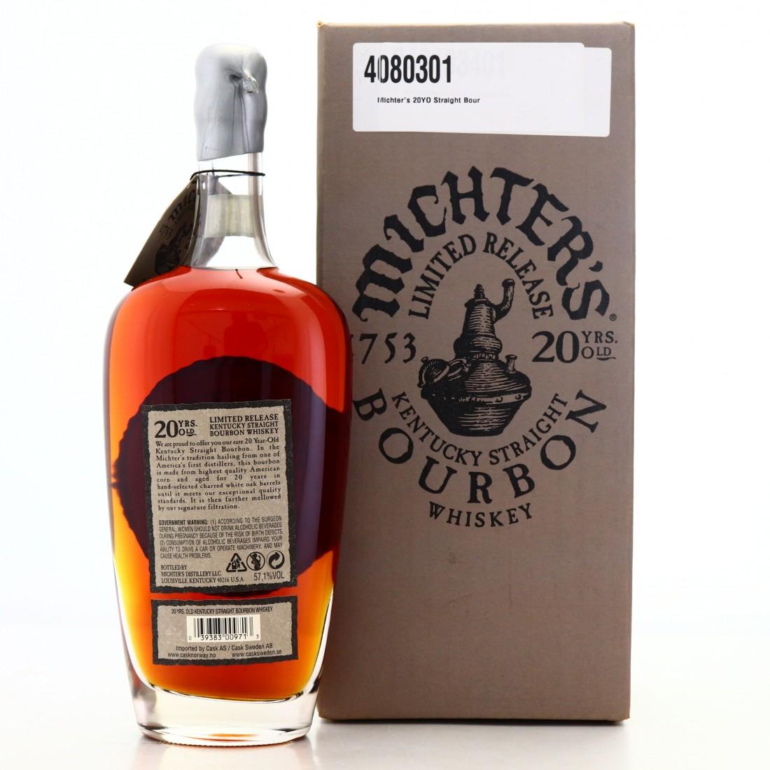 Michter's 20 Year Old Kentucky Straight Bourbon 2018