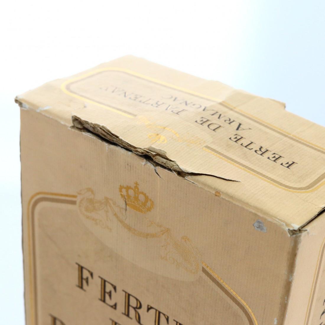 Ferte de Partenay 1948 Vintage Grand Armagnac / Royal Marriage 1981