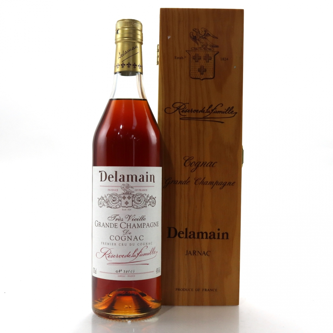 Delamain Tres Vielle Grande Champagne de Cognac / German Import