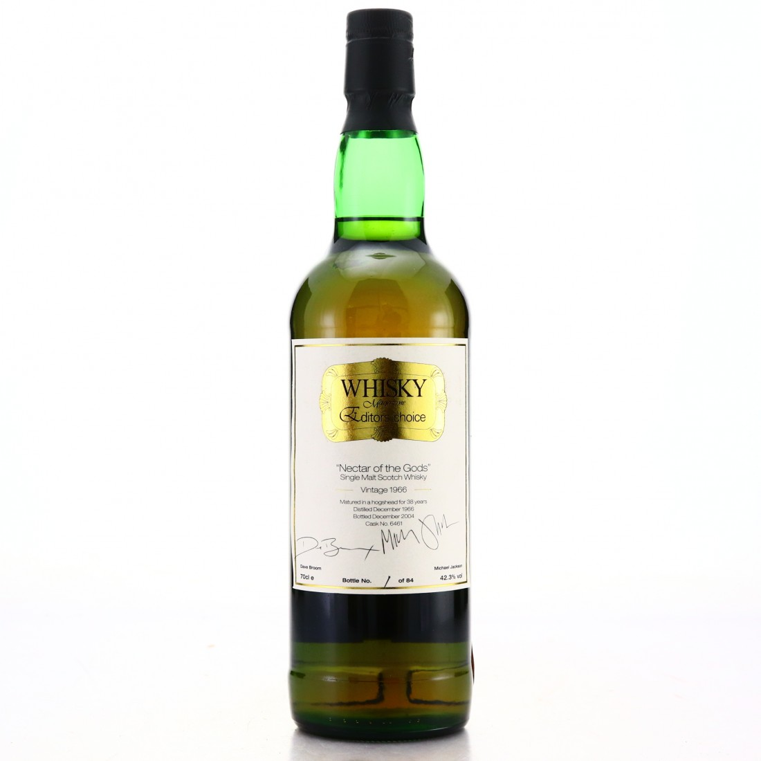 Glenfarclas 1966 SMWS 38 Year Old / Whisky Magazine Live! - Bottle #1