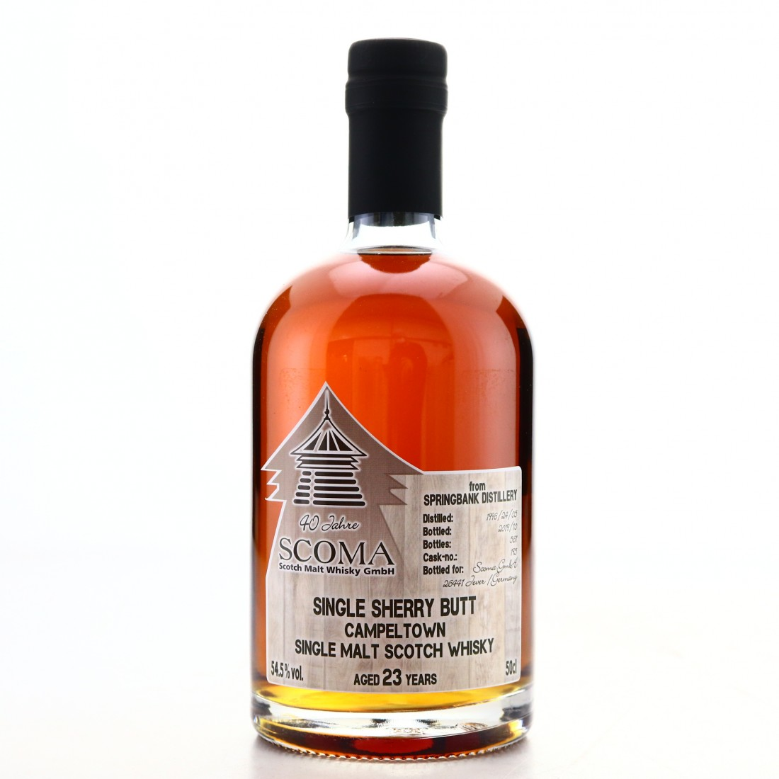 Springbank 1996 Scoma23 Year Old 50cl