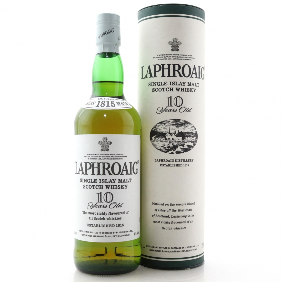 Laphroaig 10 Year Old 75cl / US Import