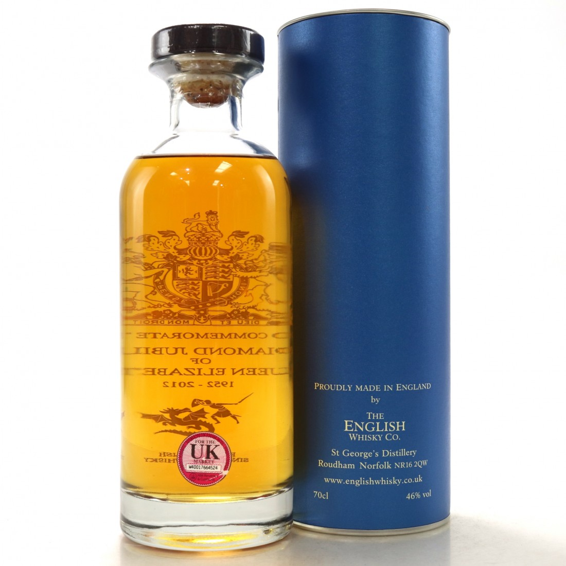 English Whisky Co Diamond Jubilee 2012
