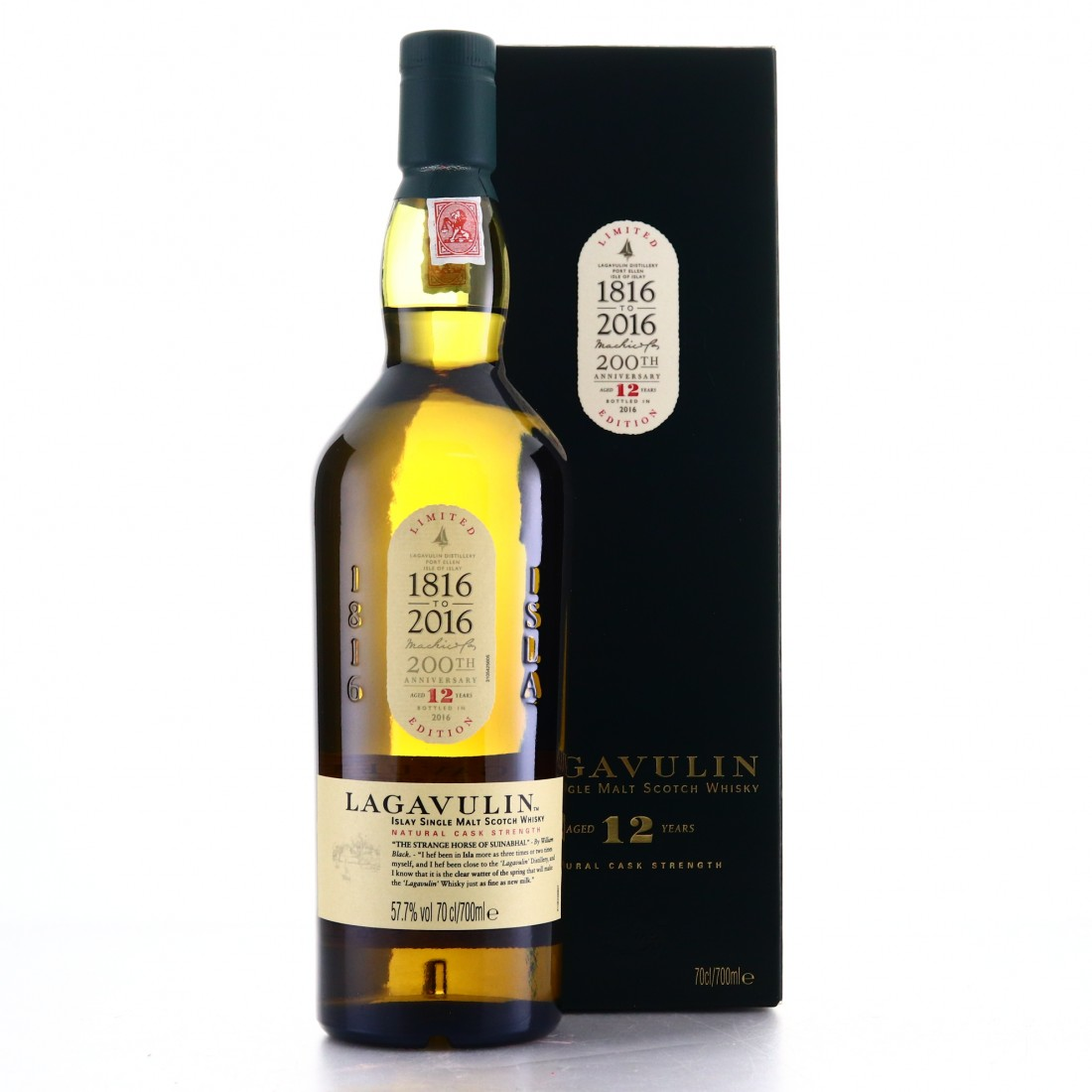 Lagavulin 12 Year Old Cask Strength 2016 Release / Bicentenary Edition
