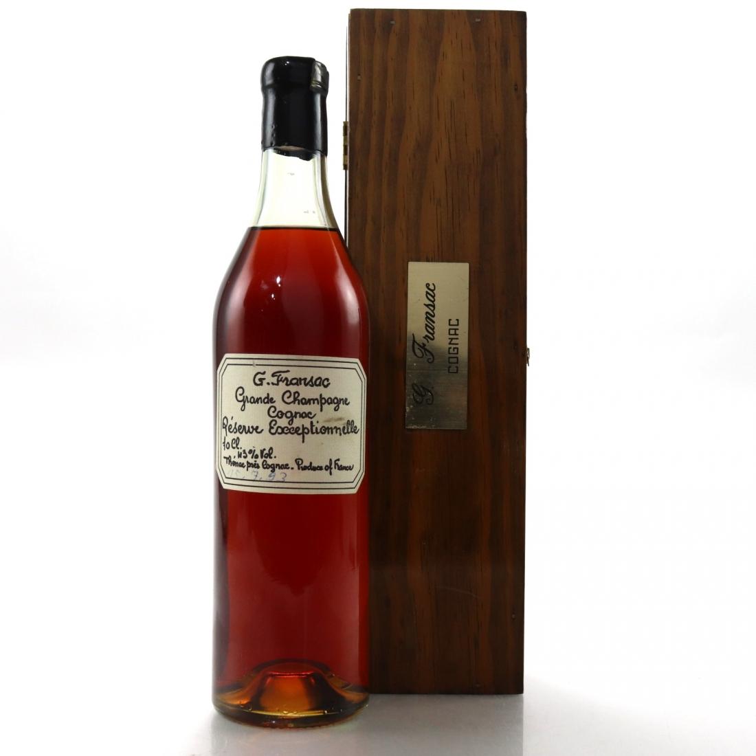G. Fransac Grande Champagne Cognac Reserve Exceptionnelle