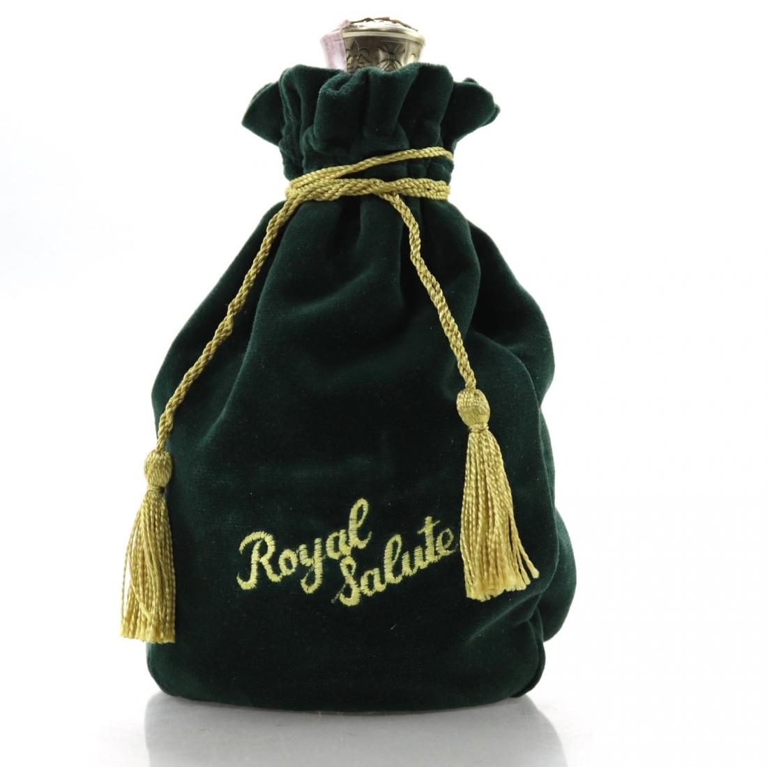 Chivas Regal Royal Salute 21 Year Old / Emerald Flagon