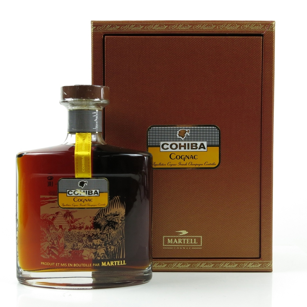 Martell Cohiba Champagne Cognac
