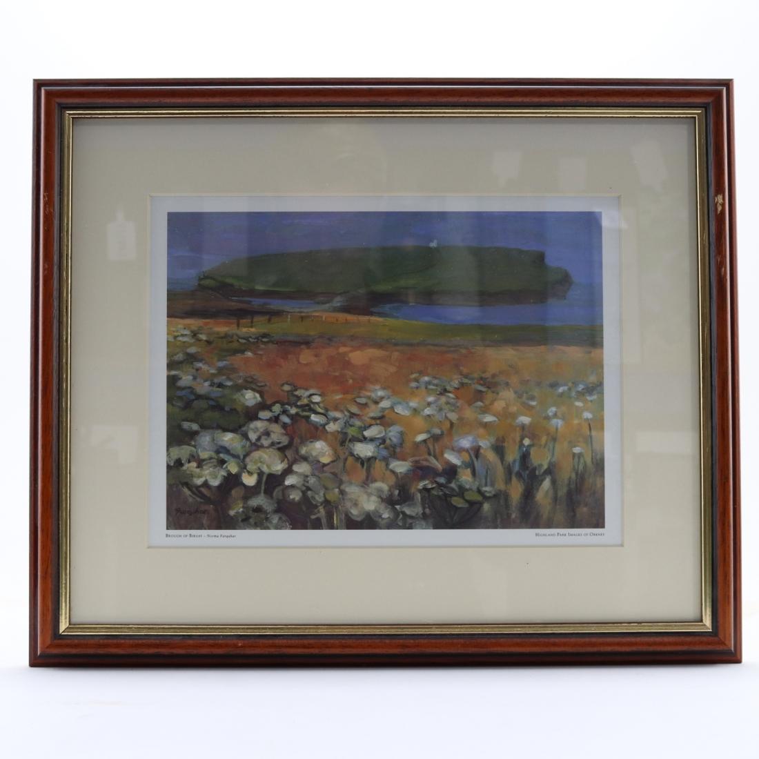 Highland Park Images of Orkney Framed Prints x 3 / Brough of Birsay, Swan's Nest, Hoy Sound