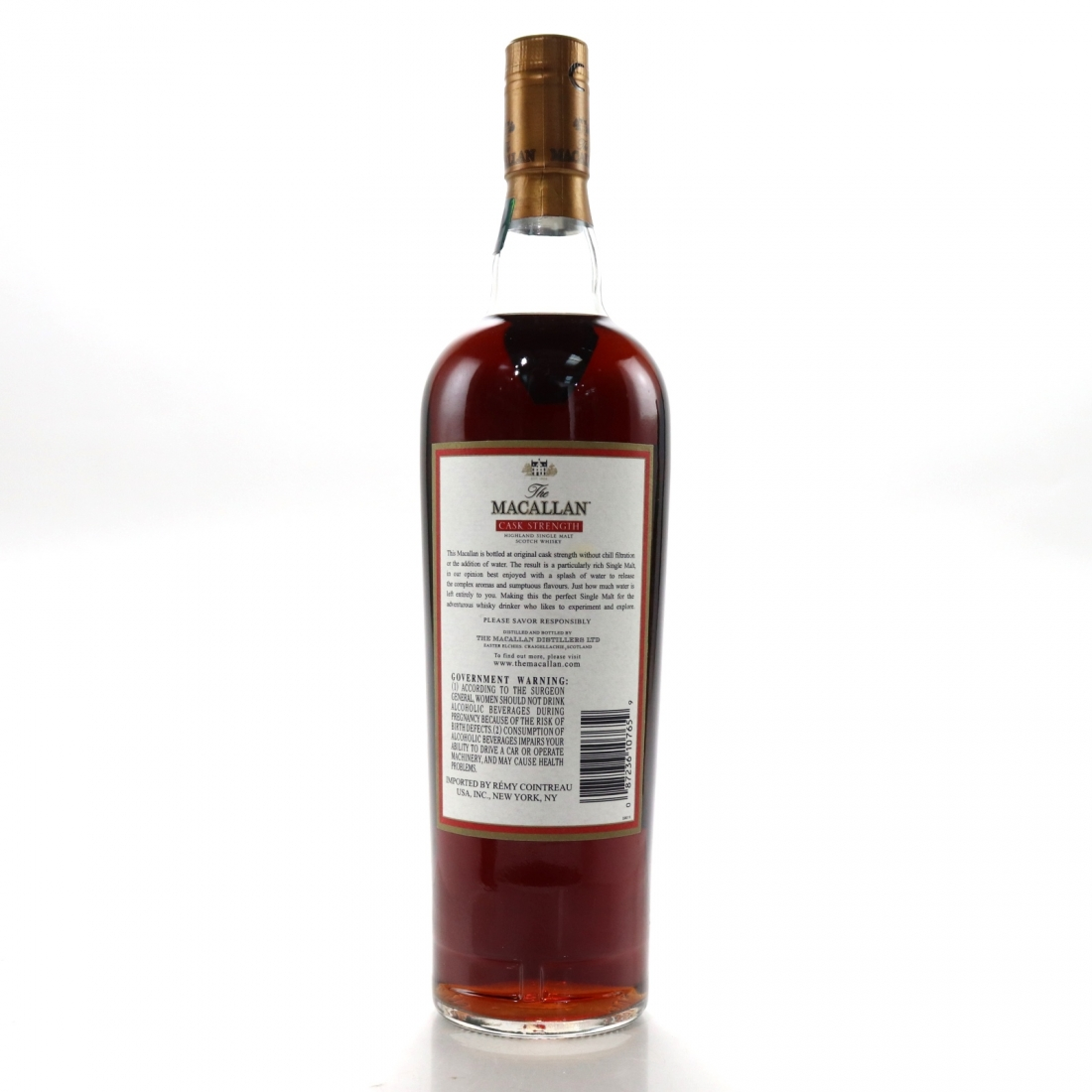 Macallan Cask Strength 59% 75cl / US Import