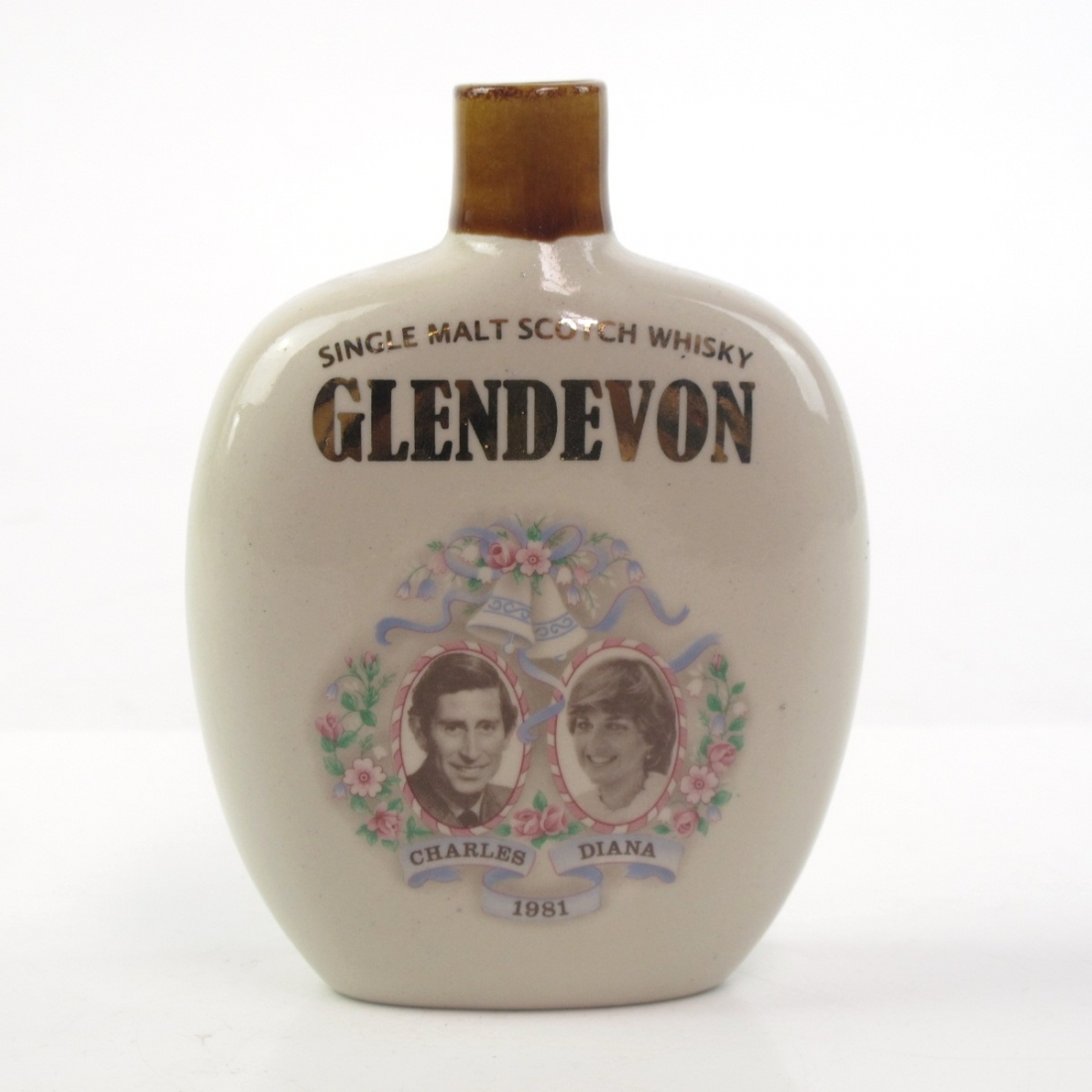 Glendevon 25 Year Old Decanter / Charles and Diana