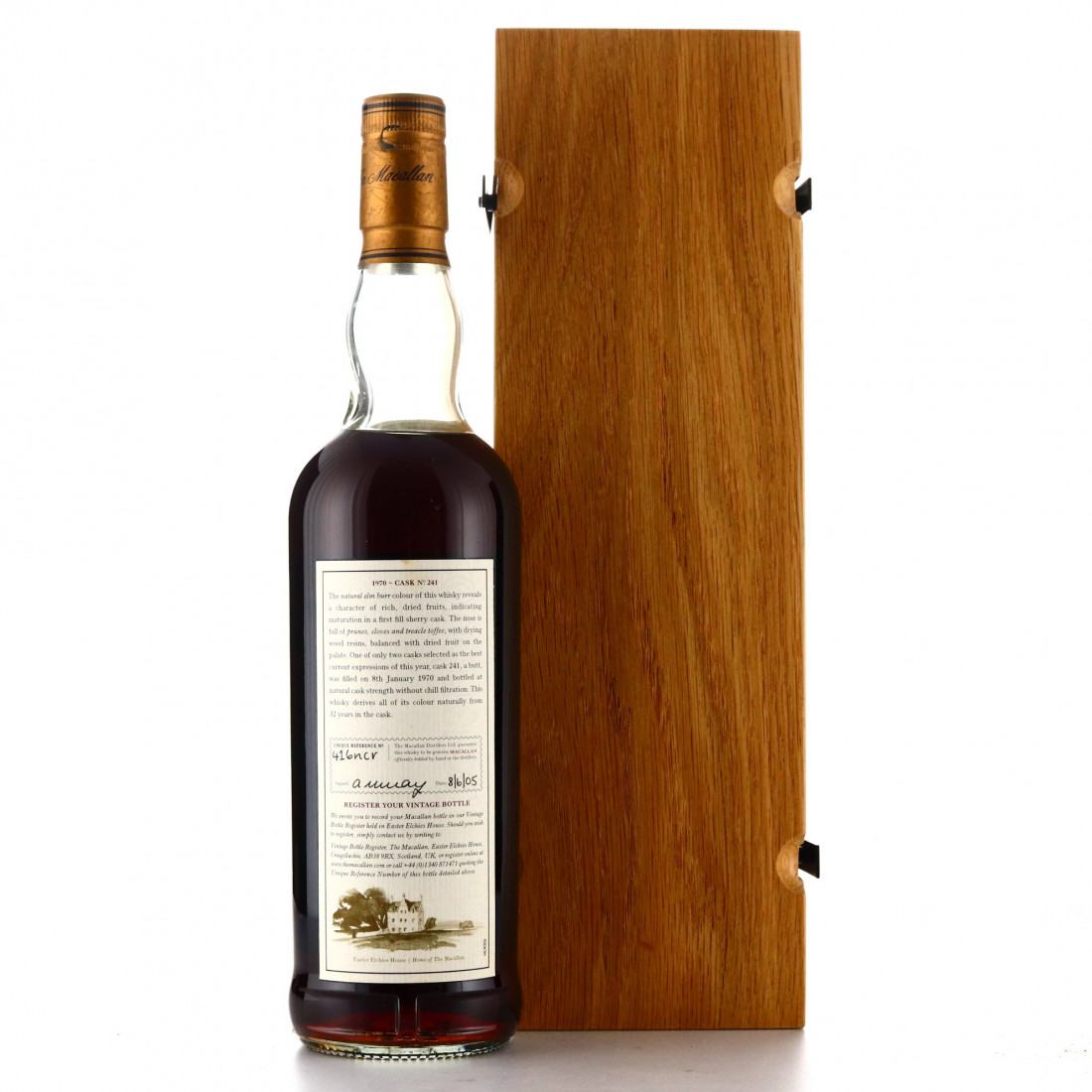 Macallan 1970 Fine and Rare 32 Year Old #241