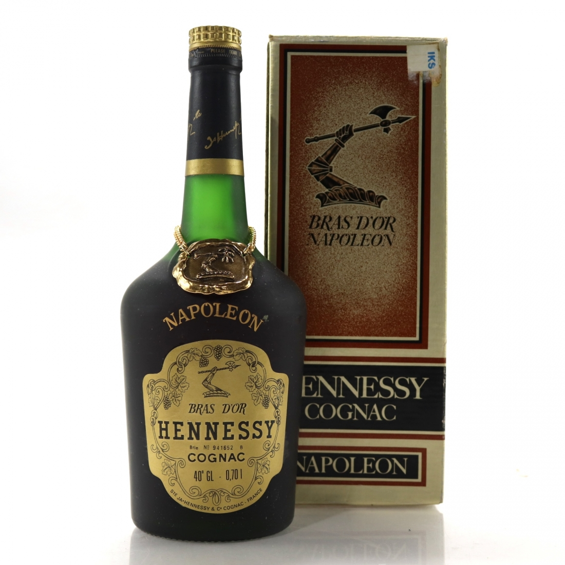Hennessy Napoleon Bras D'Or Cognac 1970s / German Import