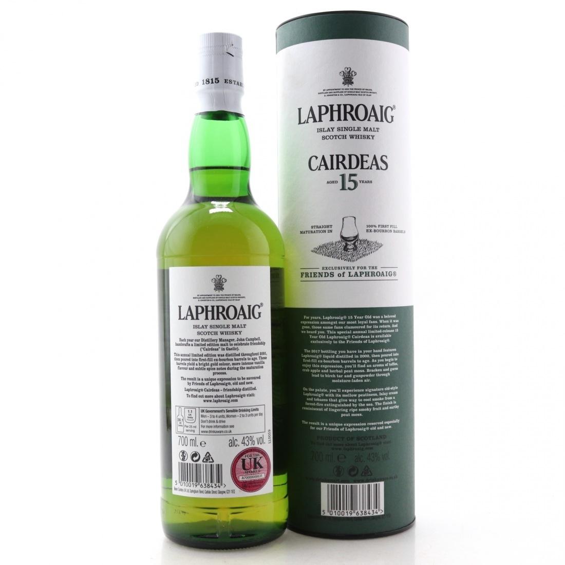 Laphroaig 2001 Cairdeas 15 Year Old / Friends of Laphroaig 2017