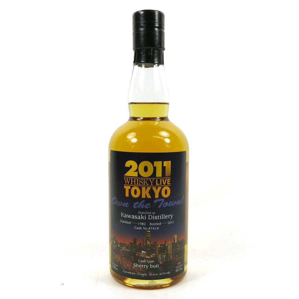 Kawasaki 1982 Whisky Live Tokyo 2011 Single Cask #7414