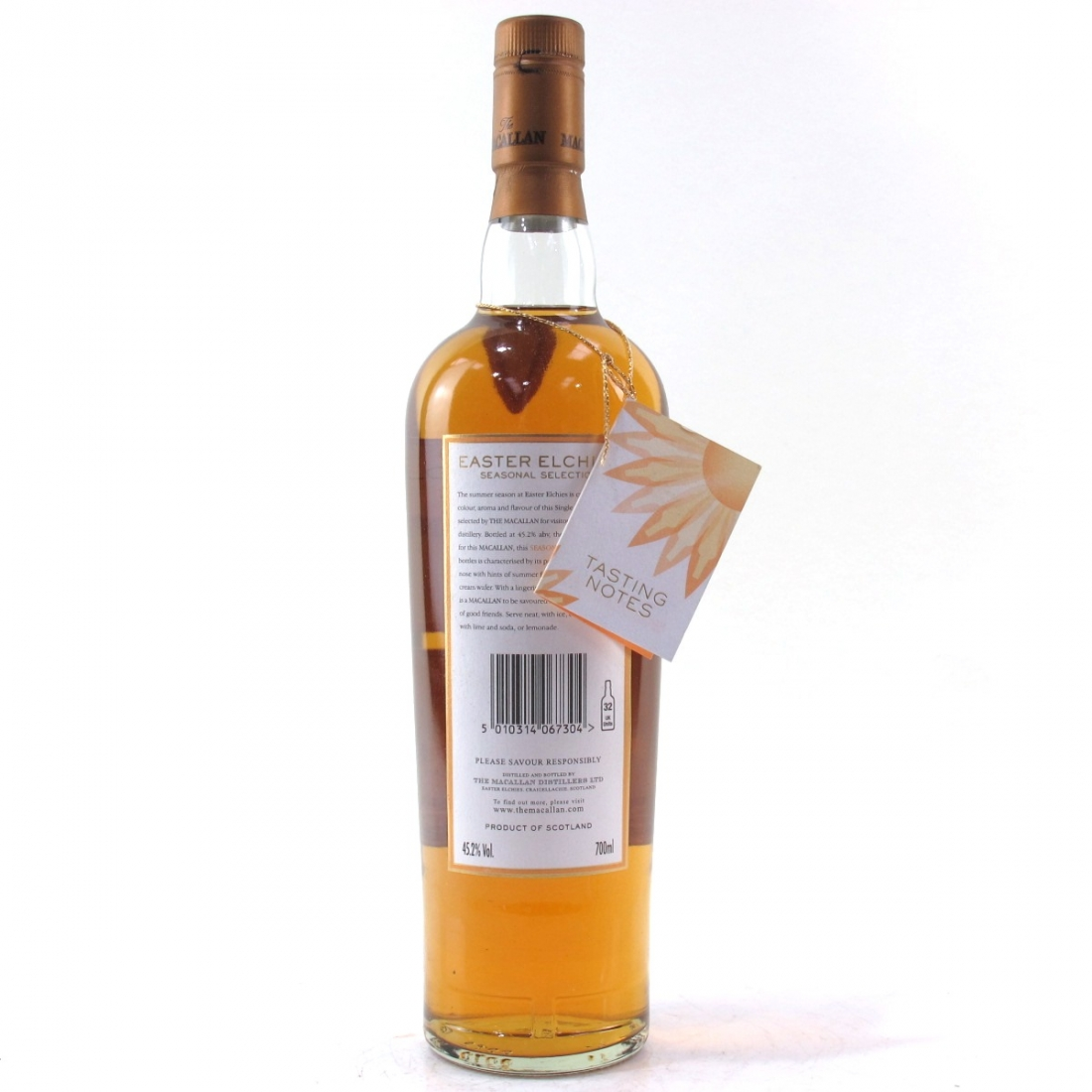 Macallan 8 Year Old Easter Elchies Seasonal Selection / Summer