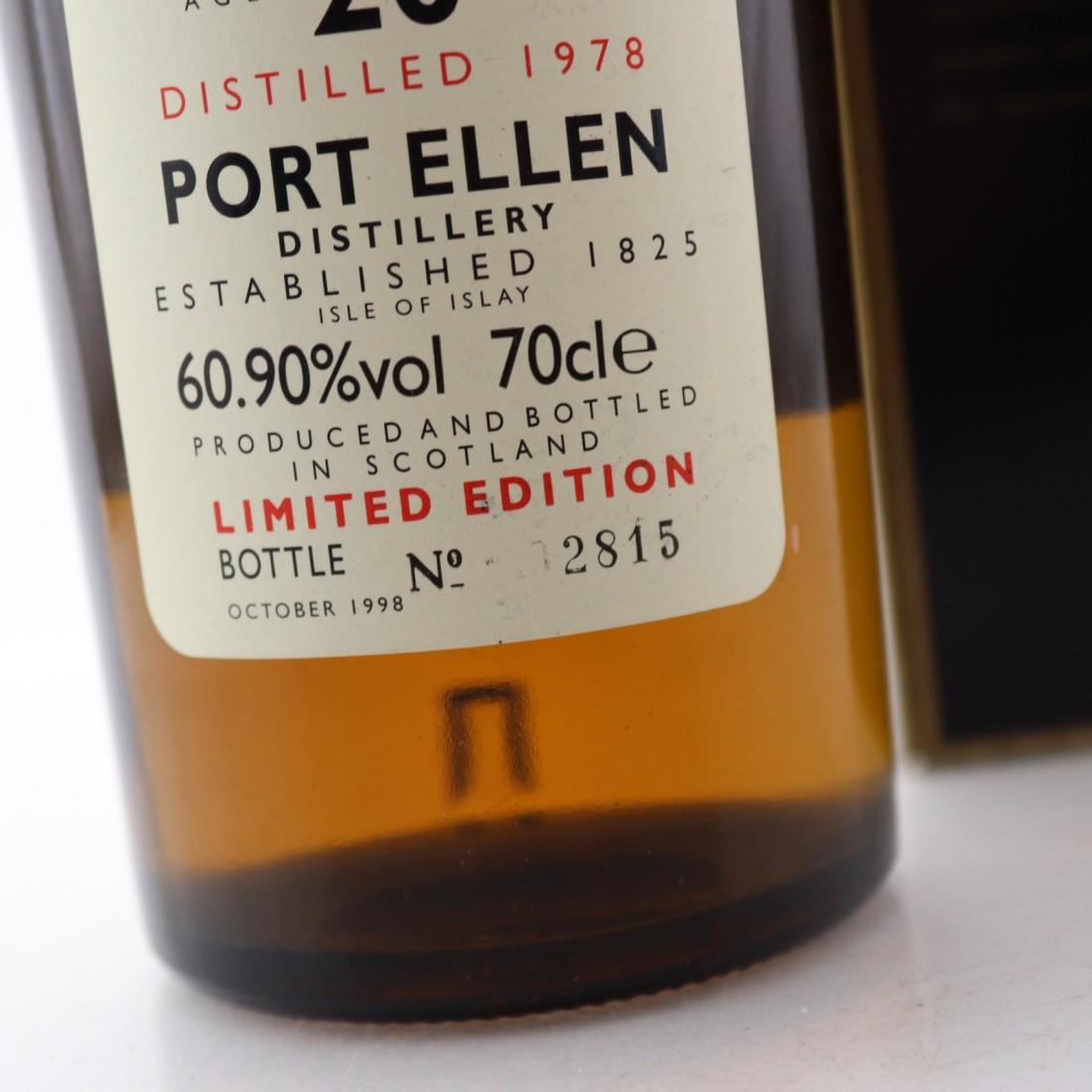 Port Ellen 1978 Rare Malt 20 Year Old / 60.90%