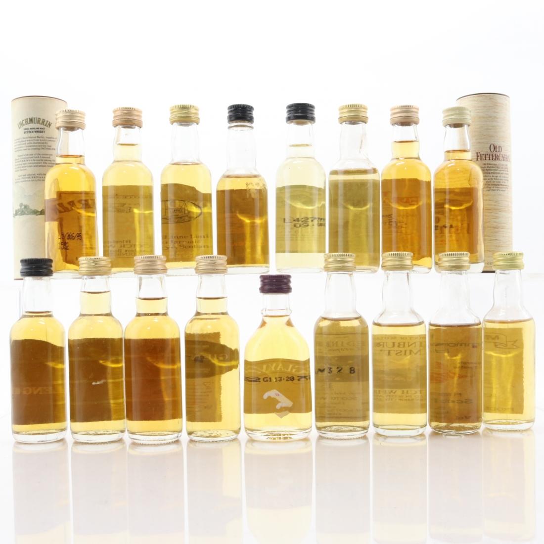 Scotch Whisky Miniature Selection 17 x 5cl