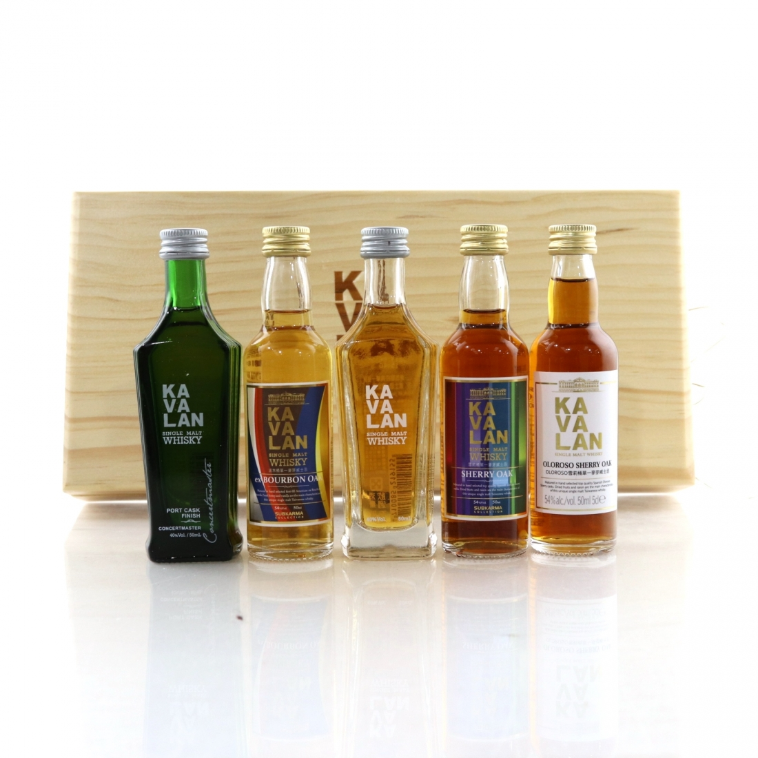 Kavalan Miniature Gift Pack 5 x 5cl
