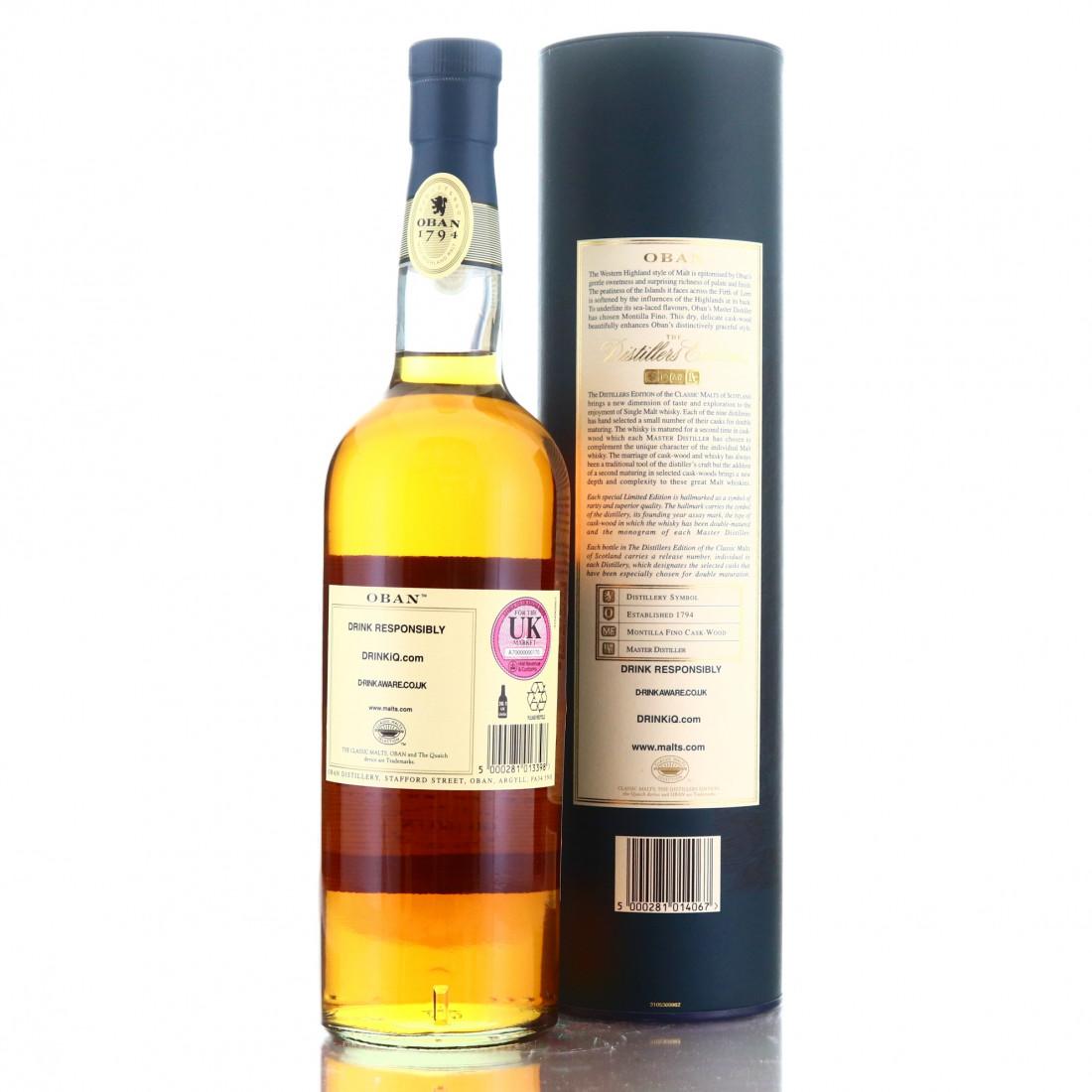 Oban 1996 Distillers Edition