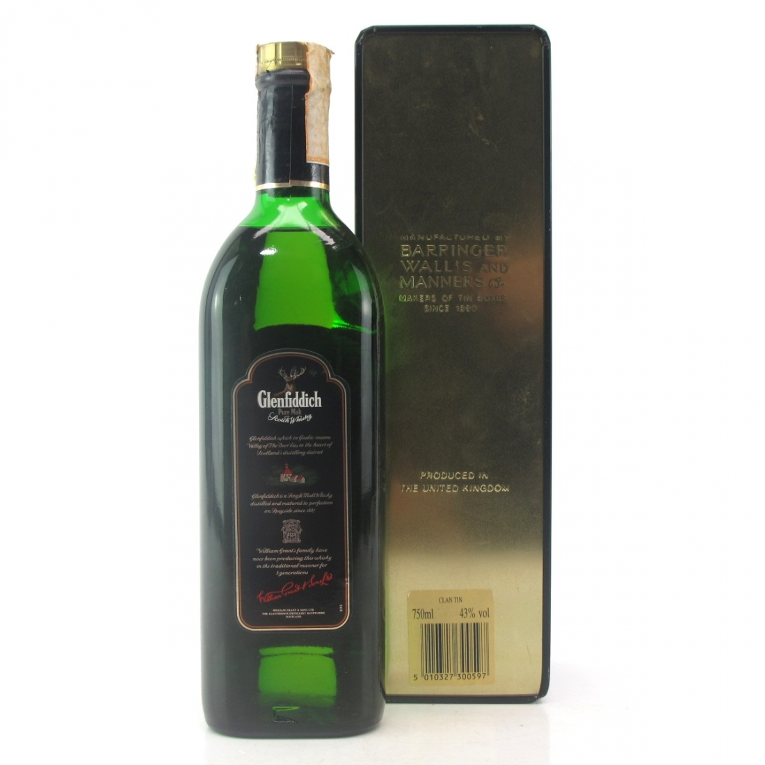Glenfiddich Clans of the Highlands 1980s / MacDonald of Clanranald