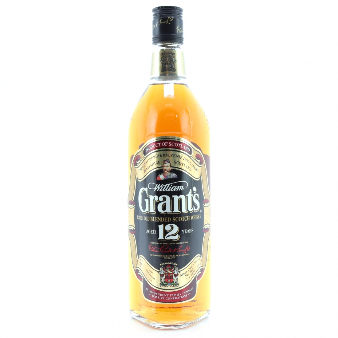 Grant's 12 Year Old 75cl / US Import