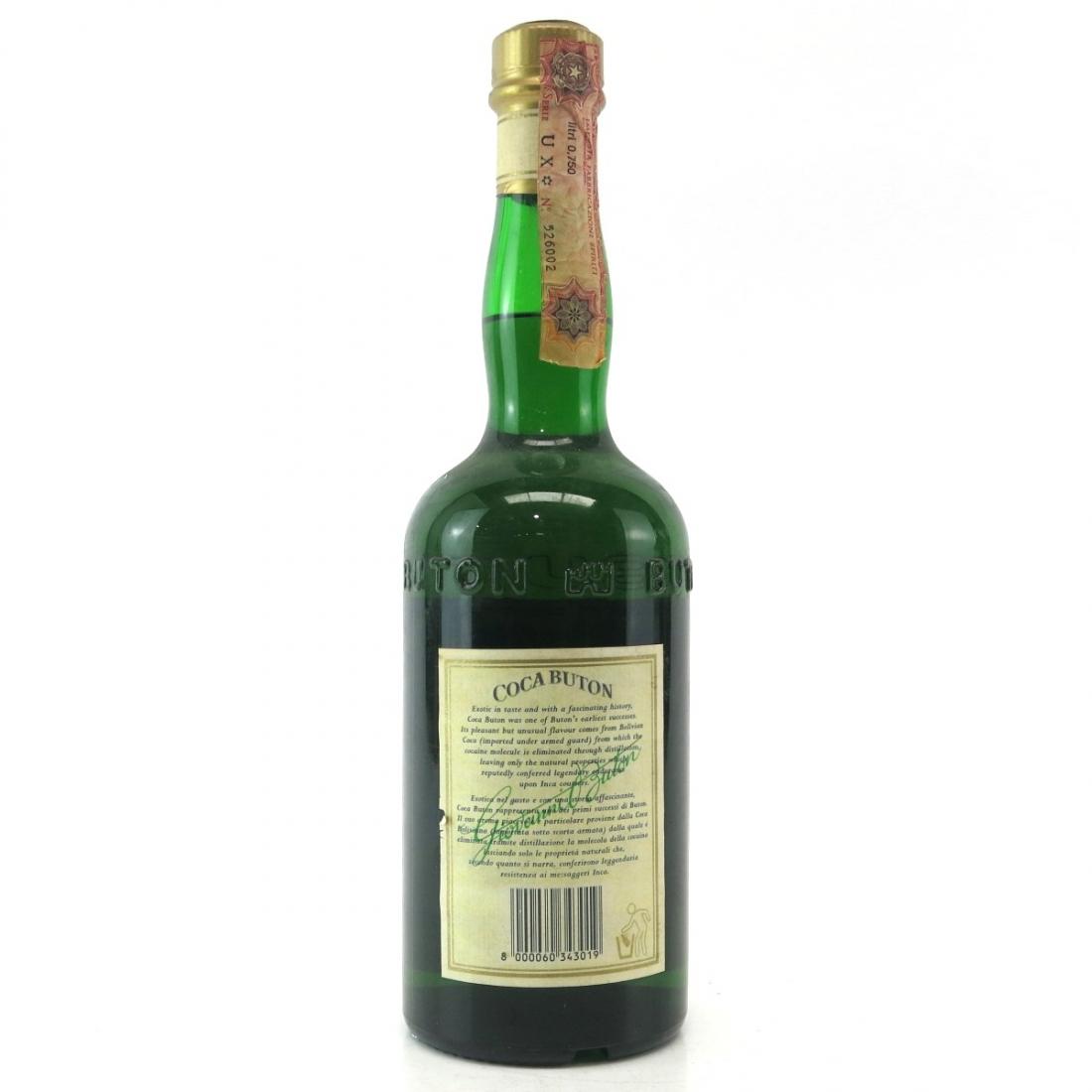 Coca Buton Liquore 1980s