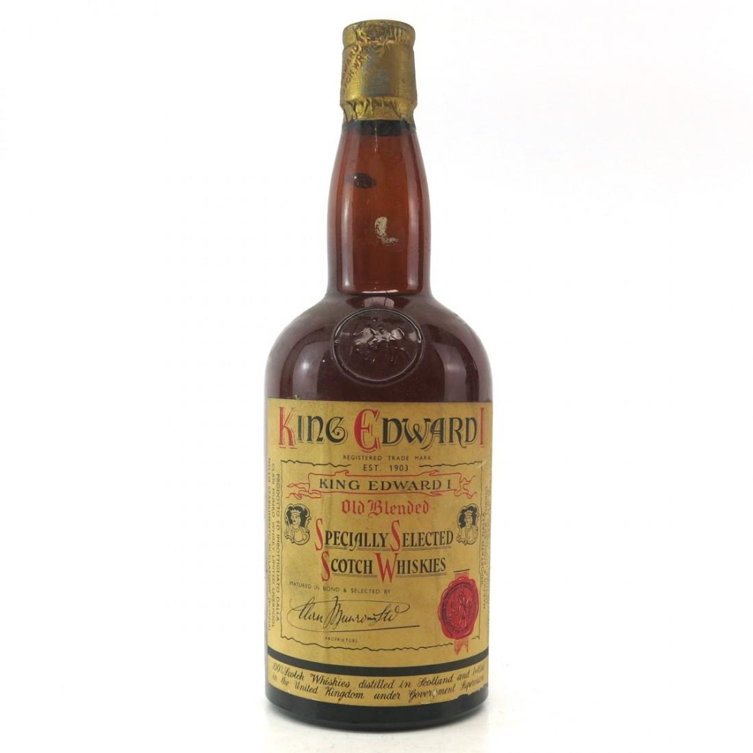 King Edward 1st Scotch Whisky 1960s