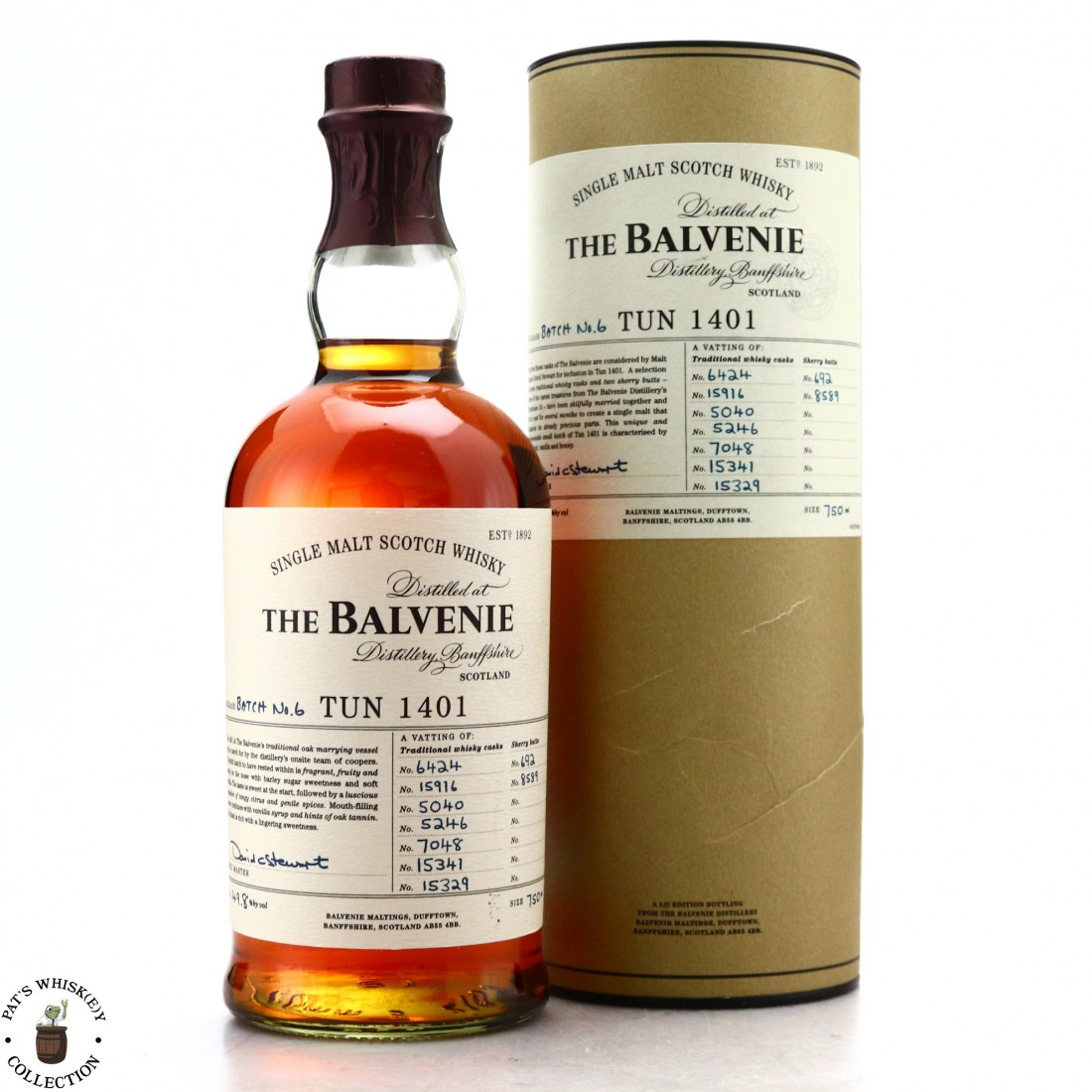 Balvenie Tun 1401 Batch #6 75cl / US