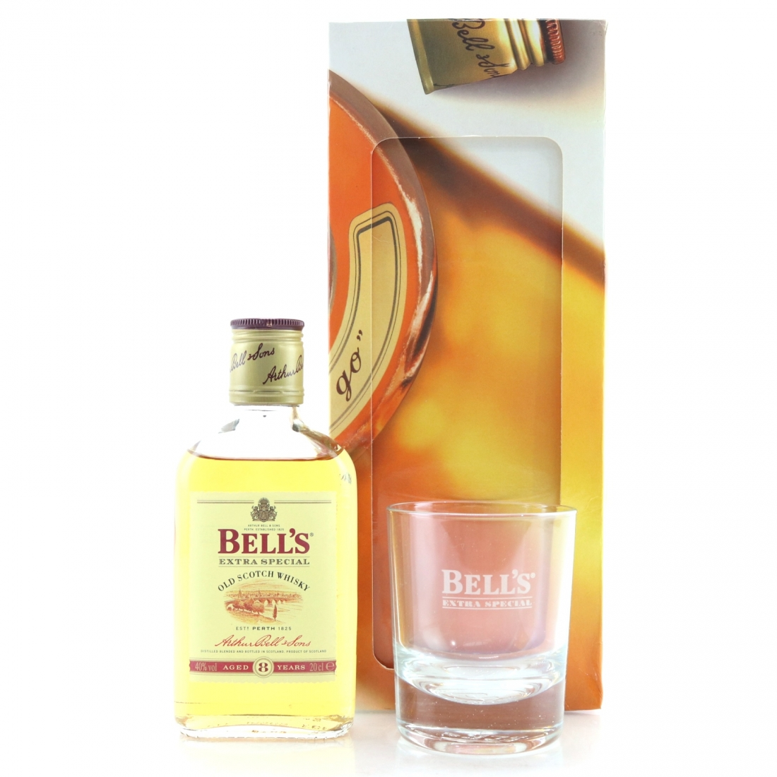 Bell's 8 Year Old 20cl / Including Glass