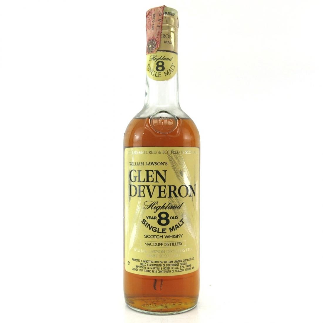 Glen Deveron 8 Year Old 1980s / Macduff