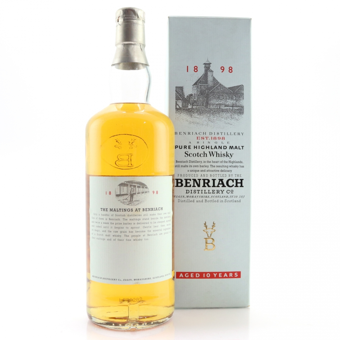 Benriach 10 Year Old 1 Litre