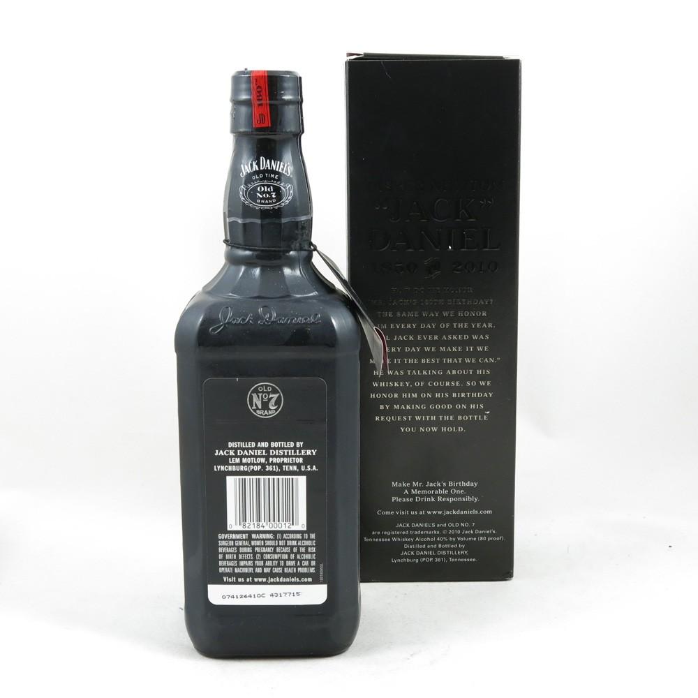 Jack Daniel's 160th Birthday (US Import) 75cl Back