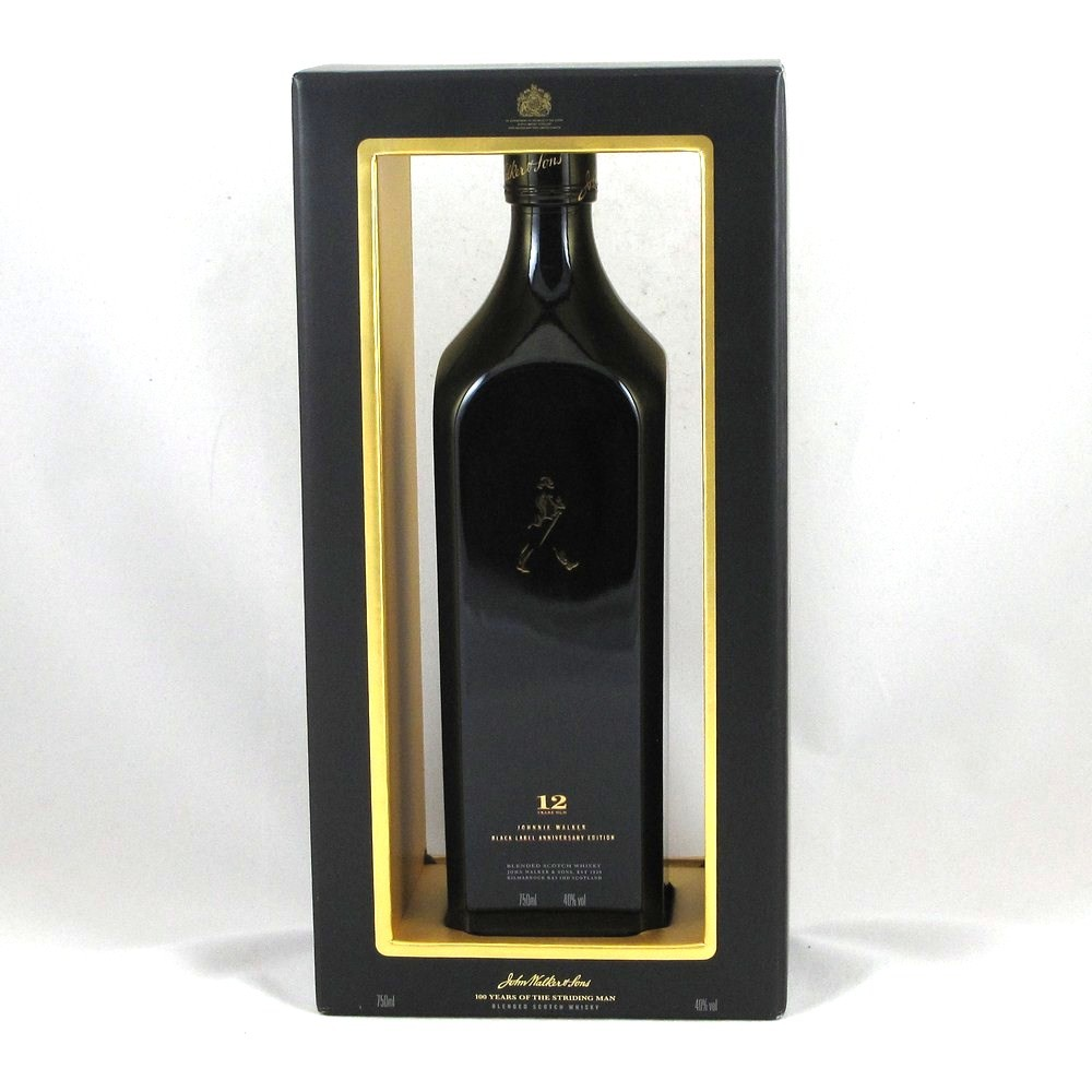 Johnnie Walker Anniversary Edition Black Label Front