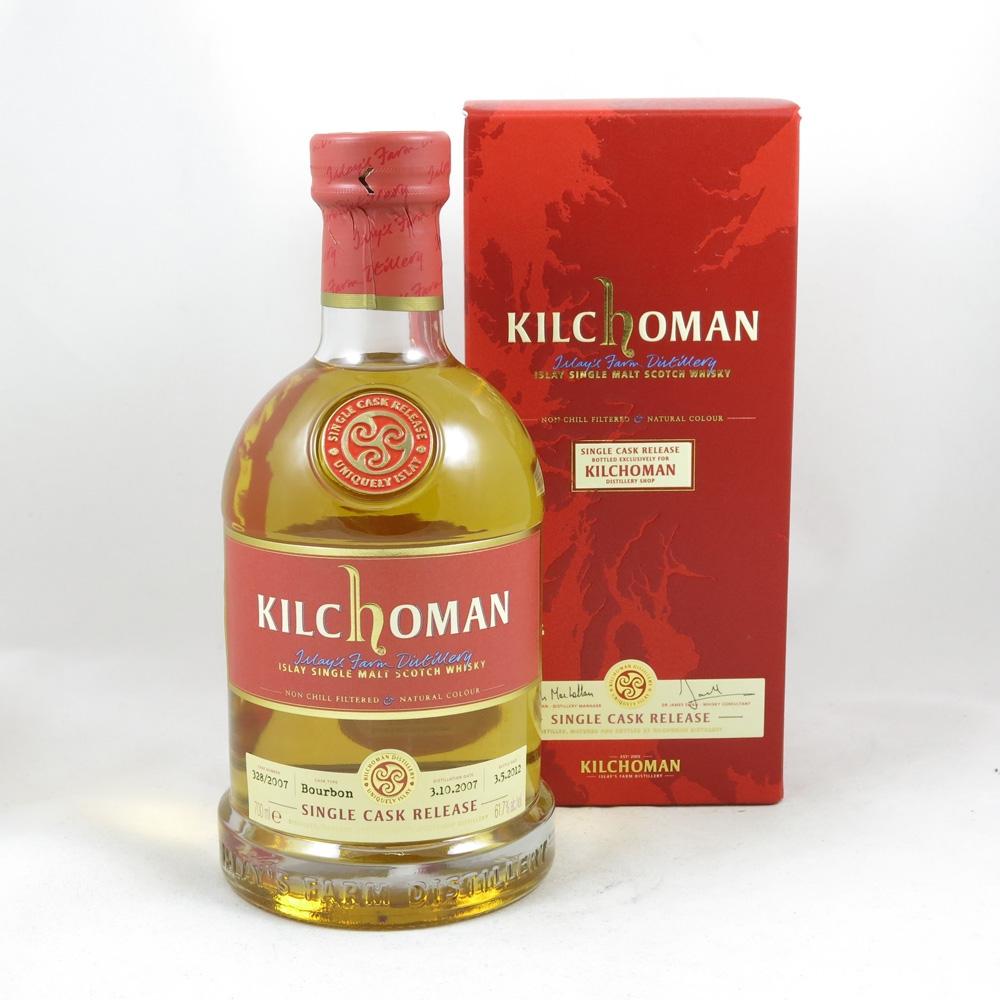 Kilchoman 2007 Distillery Exclusive Single Cask front