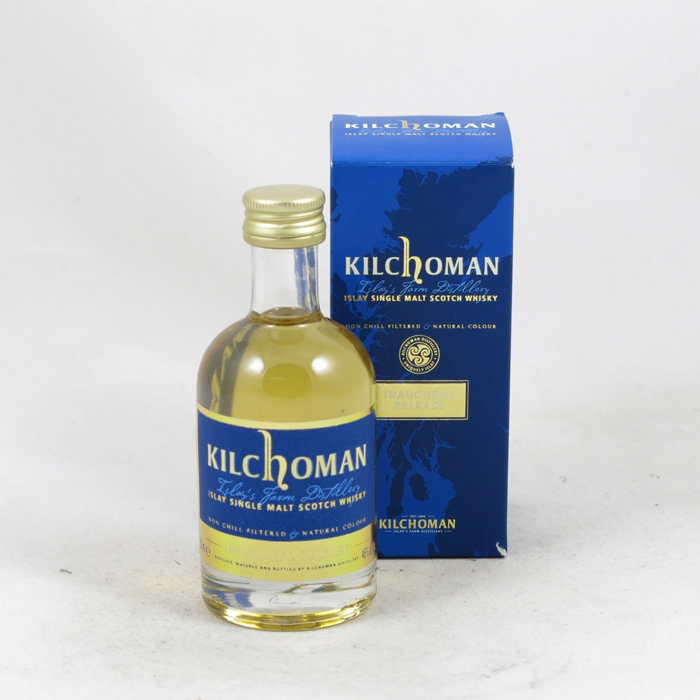 Kilchoman Inaugural Release 5cl front