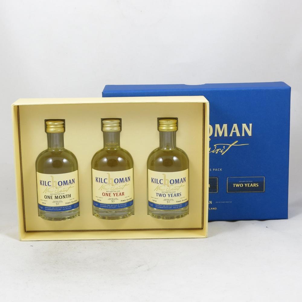 Kilchoman Connoisseur's Pack (3 x 5cl) front