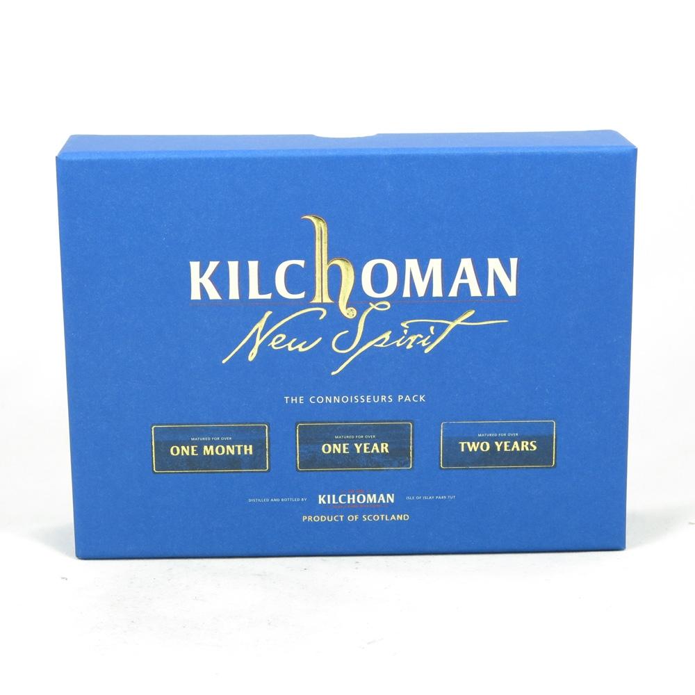 Kilchoman Connoisseur's Pack (3 x 5cl) box